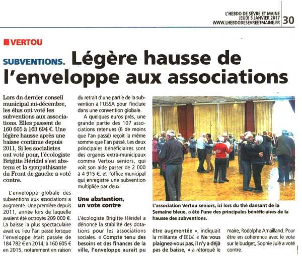 HSM Article du 050117 Subventions 2